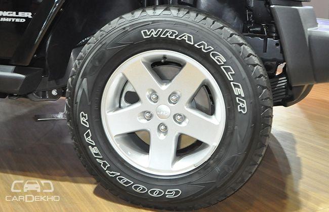 Jeep Wrangler Unlimited Wheel