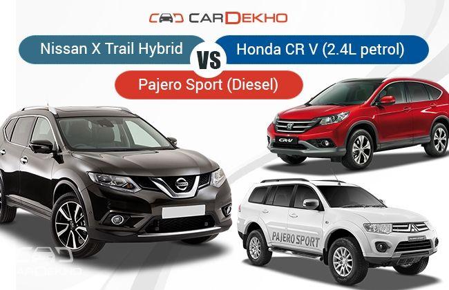 X-Trail Hybrid Competitors