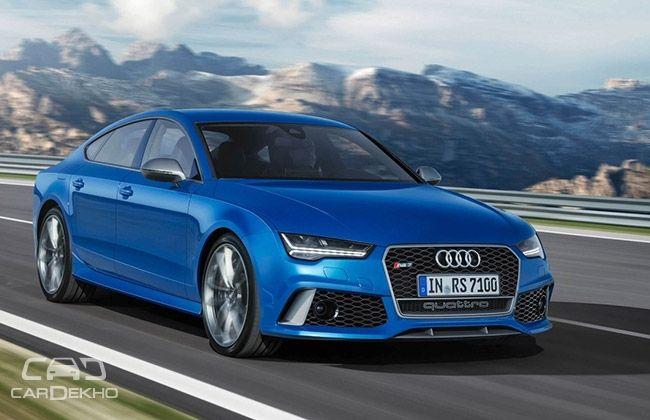 Audi RS7 Performance (305 Kmph)