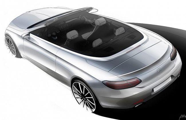 Mercedes Benz C-Class Cabriolet Sketch