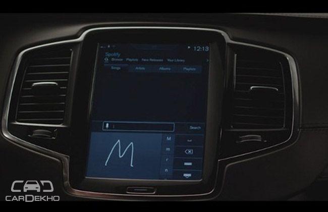 Volvo Spotify Music System