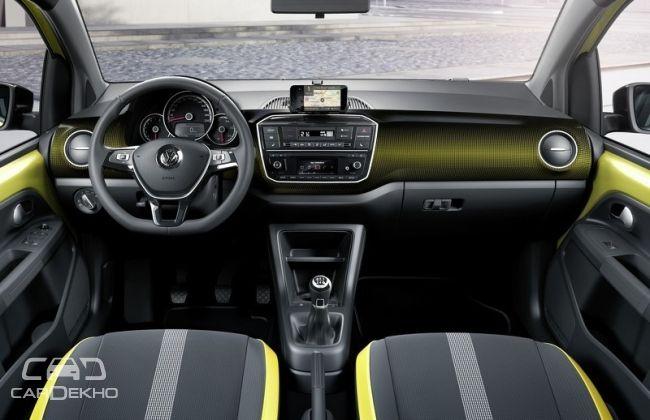 Volkswagen Up interiors