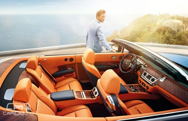 Rolls Royce Might Launch Convertible Dawn In India