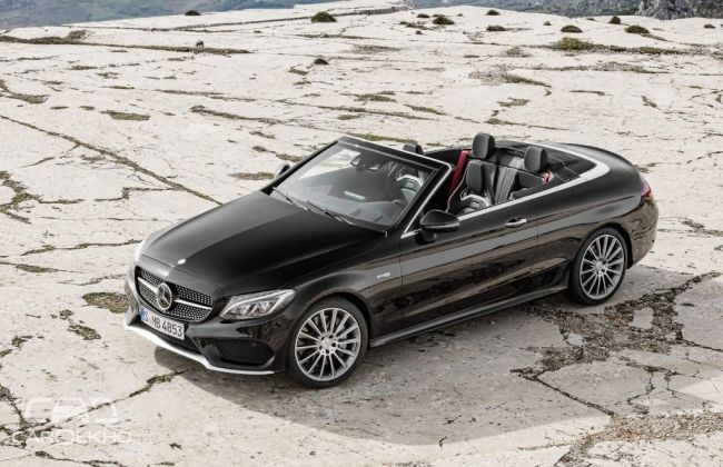 Mercedes benz amg c43 cabriolet to make debut geneva for Mercedes benz make