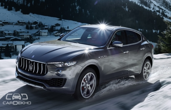 Maserati Levante India Launch In Early Business Standard News