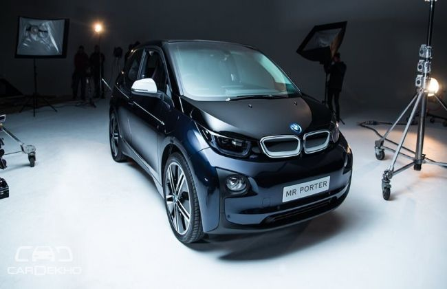 BMW i3 inspired by MR PORTER