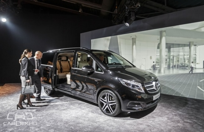Mercedes V-Class Exclusive Edition