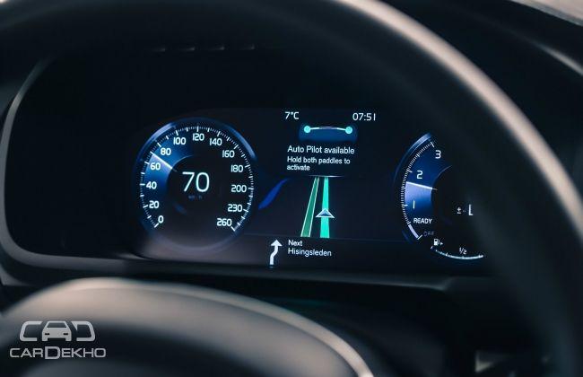 Volvo autonomous driving test