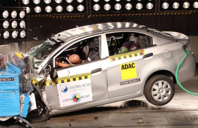 Chevrolet Sail Scores Zero-Star