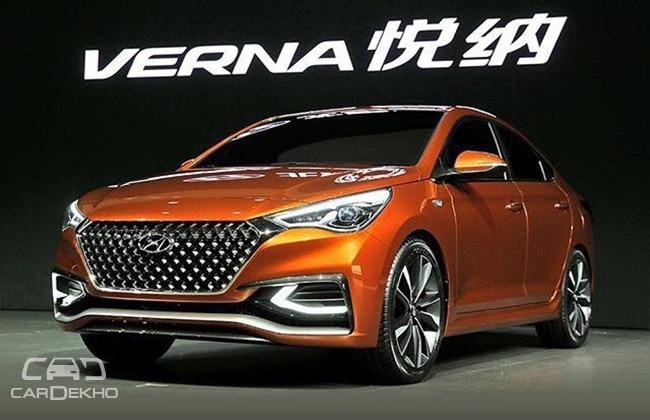 Pick Up Hyundai 2017 >> Next-Gen Hyundai Verna: What To Expect | CarDekho.com