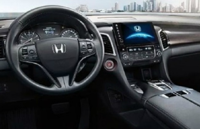 Honda Avancier interiors