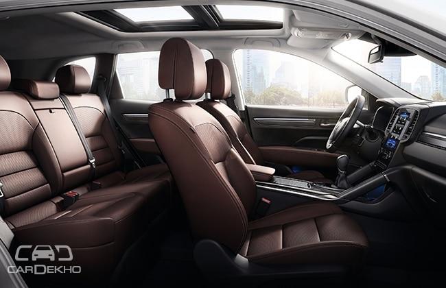 2017 Renault Koleos interiors