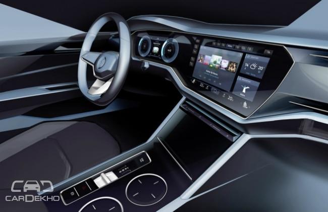 Volkswagen T-Prime Concept GLE interiors