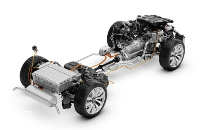 Volkswagen T-Prime Concept GLE engine drives