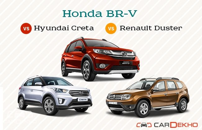 Honda BR-V and competitors