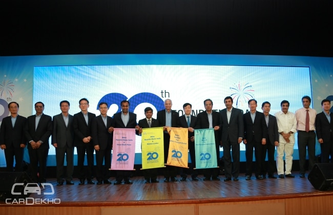 Hyundai Celebrates Its 20th Birthday In India Business