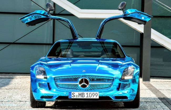 2014 SLS AMG Coupe Electric Drive