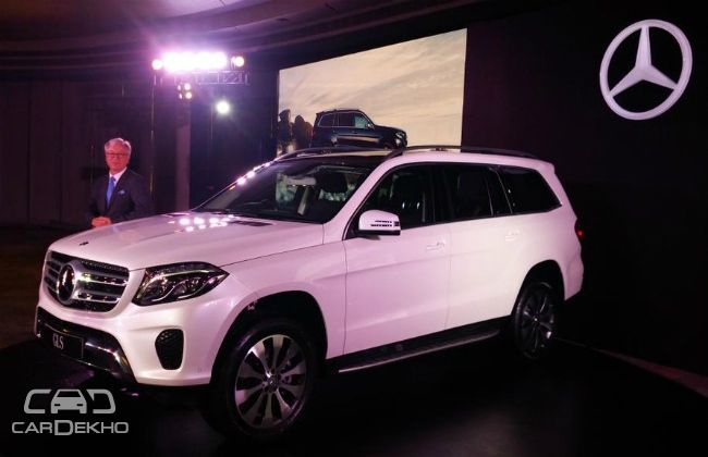 Mercedes benz gls suv launched at rs 80 4 lakh for Mercedes benz gls 350d price in india