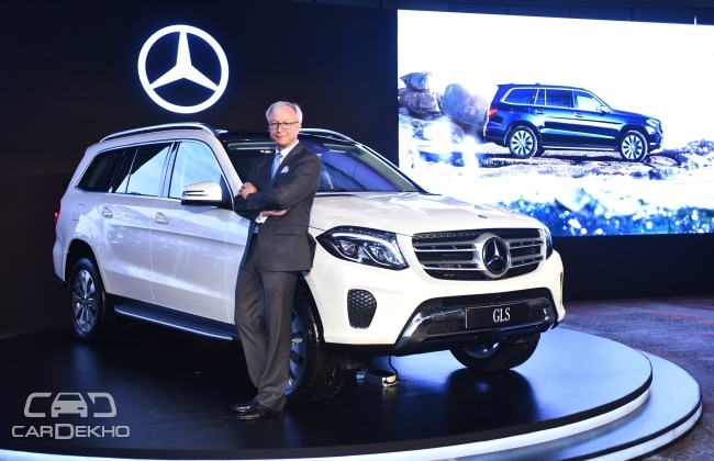 Mercedes benz gls launched but wont be available in ncr for Mercedes benz gls 350d price in india