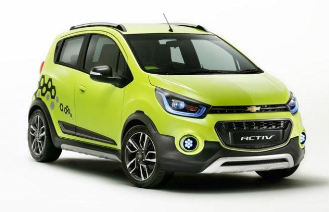 2017 Chevrolet Beat Spied | CarDekho.com