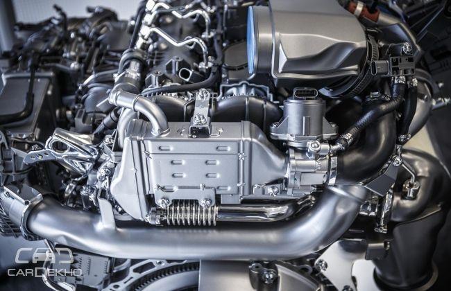 Mercedes Benz Engine -- OM 654
