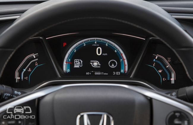 Honda Civic Digital Instrument Cluster