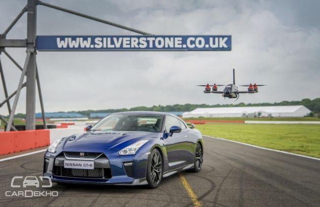 2017 Nissan GT-R and GT-R Drone