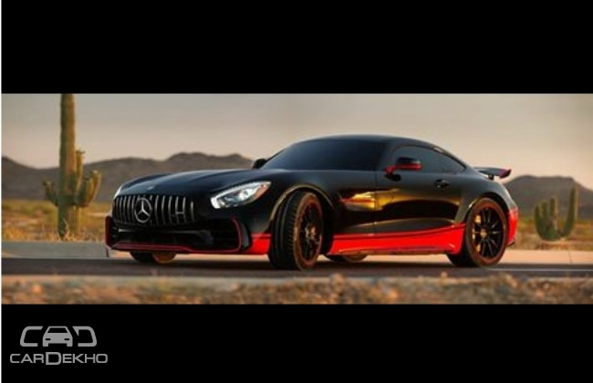 mercedes benz amg gt r becomes a transformer in the last knight. Black Bedroom Furniture Sets. Home Design Ideas