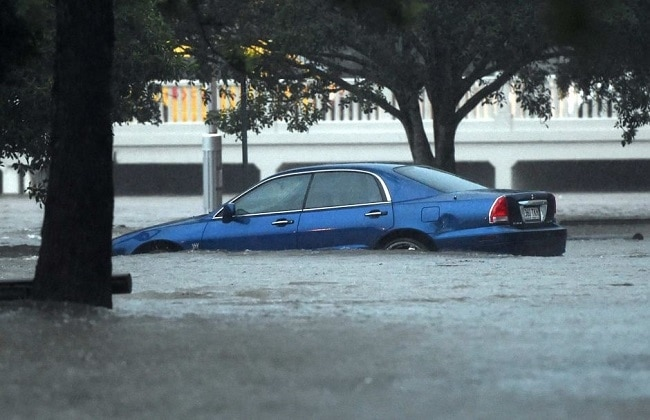 You would want to protect your car from water ingress