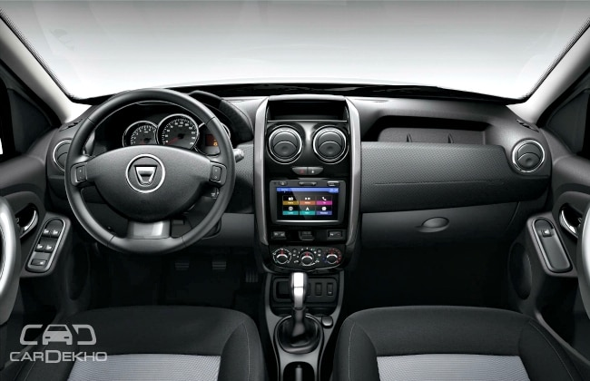 European duster gets 6 speed dual clutch automatic priced lower than amt in india for Duster interni