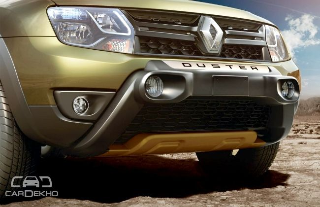 renault launches 2016 duster s adventure edition at rs lakh. Black Bedroom Furniture Sets. Home Design Ideas