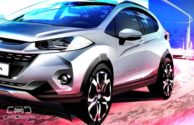 Honda WR-V Official Sketch
