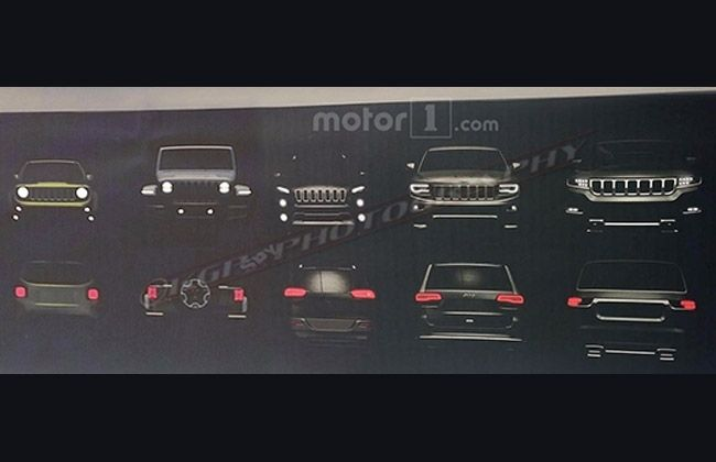 Jeep Line-up