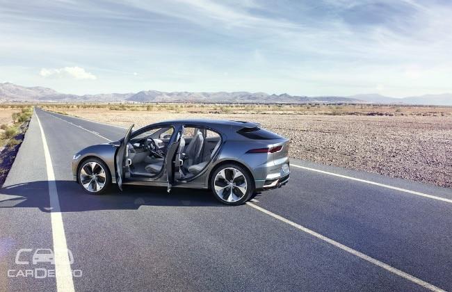 Jaguar Electrifies With I-PACE Concept Car at AutoMobility LA