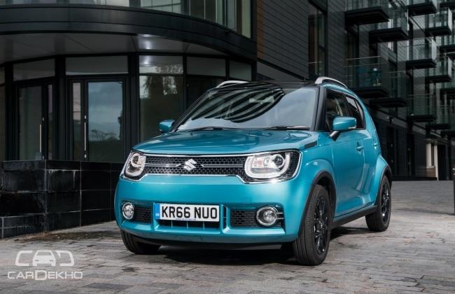 Suzuki Announces Uk Ignis Prices India Launch In Early 2017