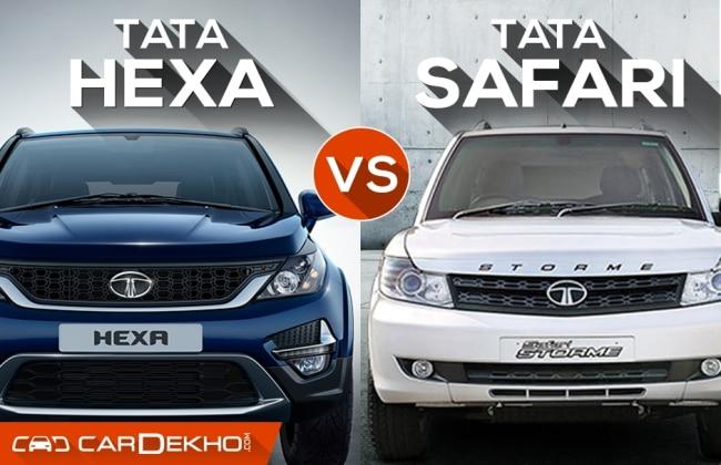 Tata Hexa vs Tata Aria: What's Changed?