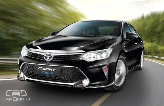 2017 toyota camry hybrid launched at rs lakh. Black Bedroom Furniture Sets. Home Design Ideas