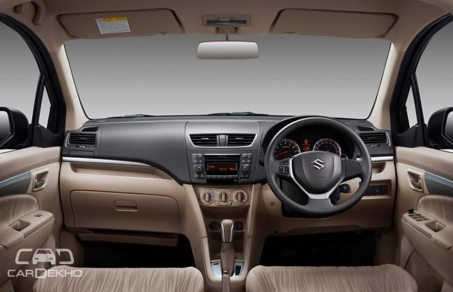 2015 Maruti Ertiga Facelift Interior
