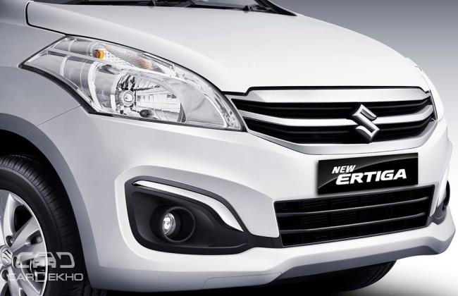 2015 Maruti Ertiga Facelift Grill