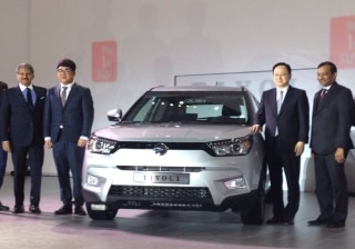 SsangYong launches its first compact SUV  Tivoli in South Korea