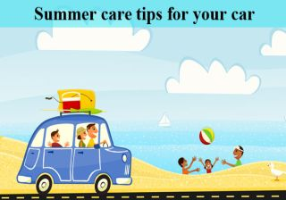 Summer car care tips