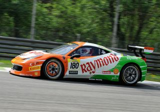 Gautam Singhania secures double podium finish once again in the Ferrari Challenge Europe Championship