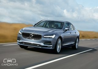 Volvo S90 revealed | India launch in Q4 2016