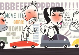 How To Abstain A Road Rage?
