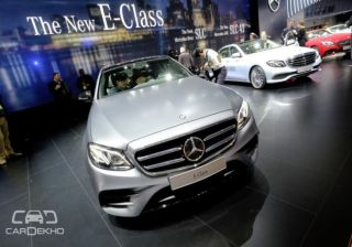 2017 Mercedes-Benz E-Class Debuts at NAIAS 2016