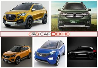 Top 5 Upcoming Compact SUV/Crossovers in India