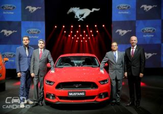 Ford Confirms Mustang for India, will go on Sale in the Second Quarter