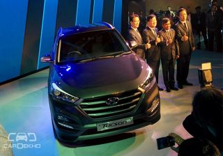 Hyundai Tucson Unveiled at 2016 Indian Auto Expo