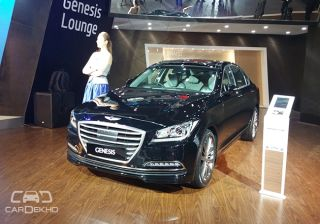 Genesis G90 Showcased at the 2016 Indian Auto Expo