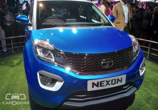Tata Nexon Production Version Showcased at 2016 Auto Expo